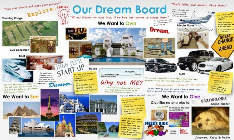 why vision boards are often worthless or even harmful